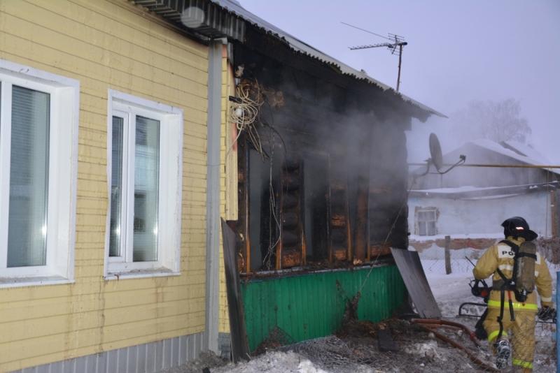 ВМордовии всгоревшем доме обнаружили тела 2-х маленьких девушек