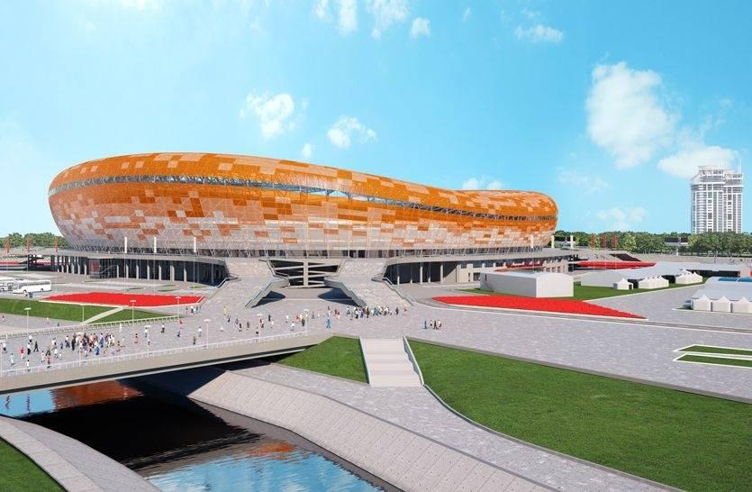 Все проекты стадион к чемпионату миру 2018