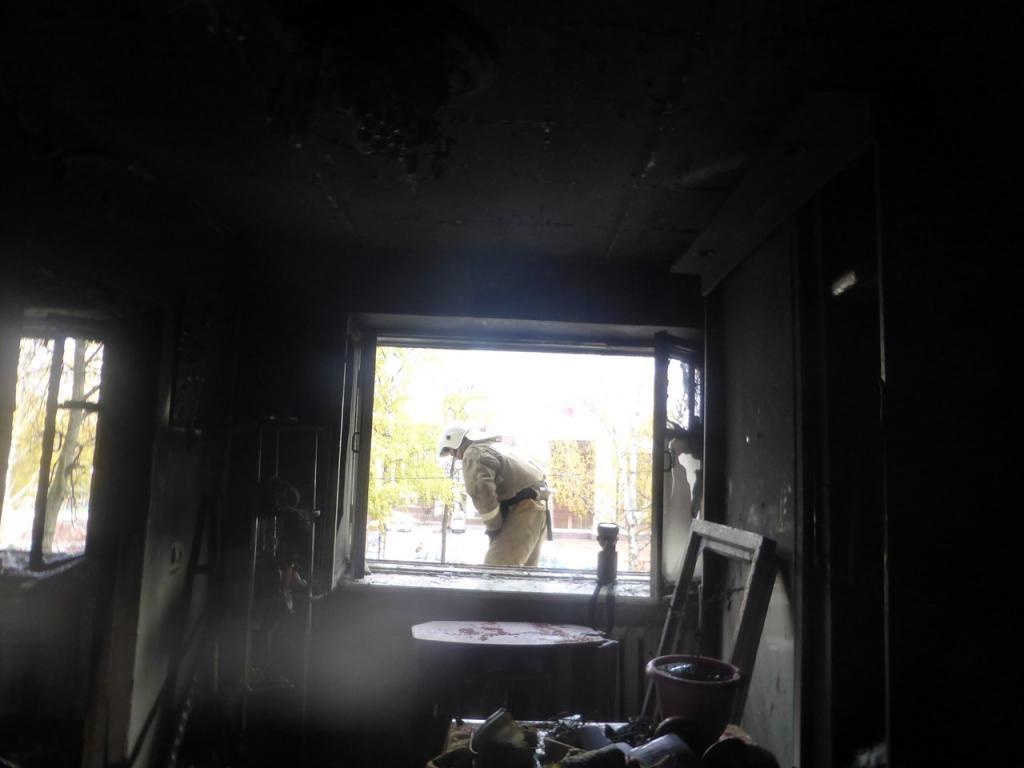 ВСаранске впожаре вжилом доме пострадали 2 человека