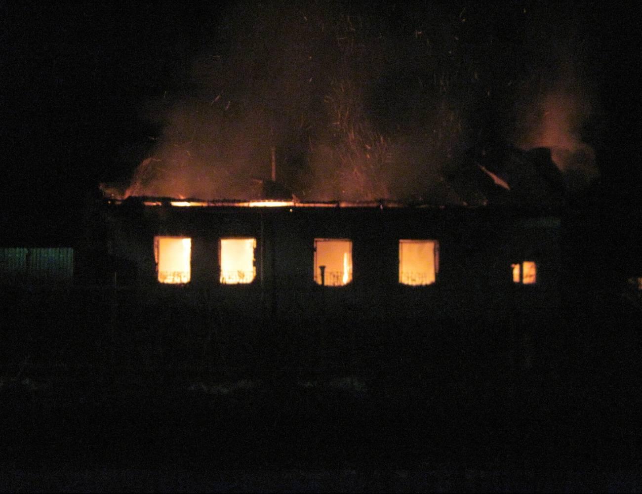 ВМордовии инвалид покончил ссобой, спалив дом №13