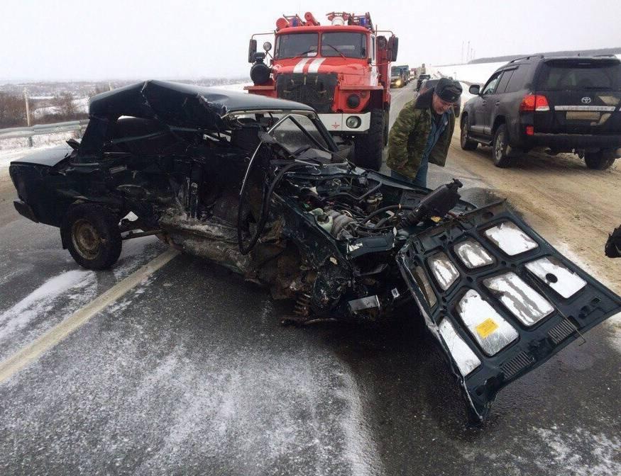 Тройное ДТП вЧамзинском районе Мордовии: водителя «десятки» зажало насидении