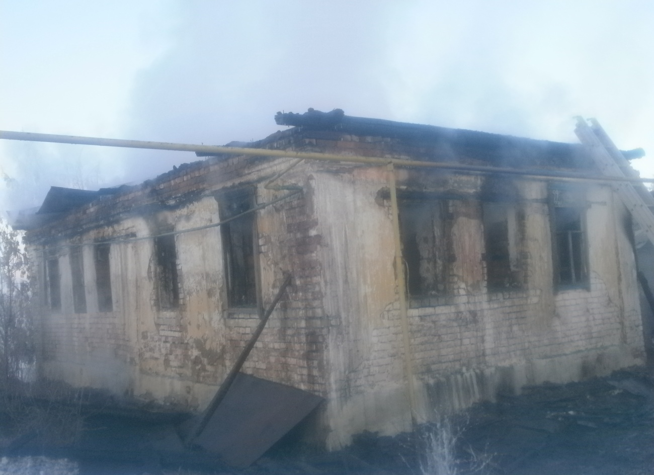 ВМордовии напожаре погибли супруг сженой