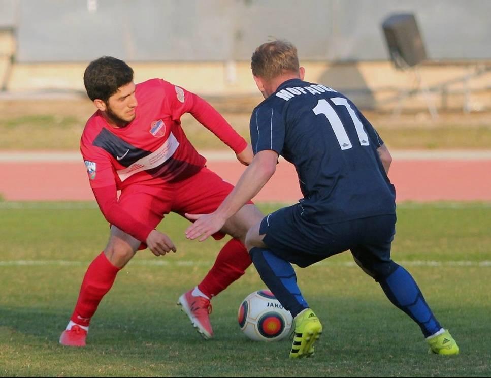 Футбольная «Мордовия» невошла втройку лидеров Кубка ФНЛ
