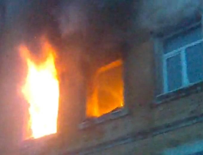 ВМордовии родственники несмогли вытянуть пенсионера изгорящего дома