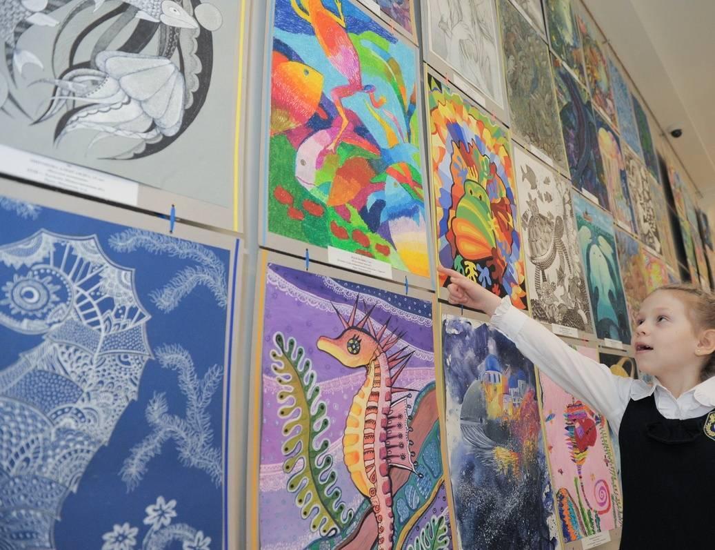 Картинки с детских конкурсов рисунков