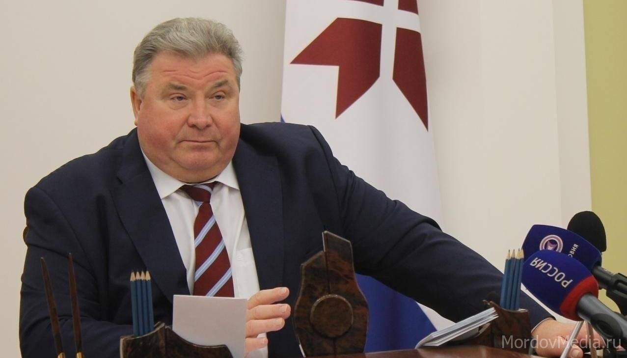 Владимир Волков получил Знак руководителя Республики Мордовия