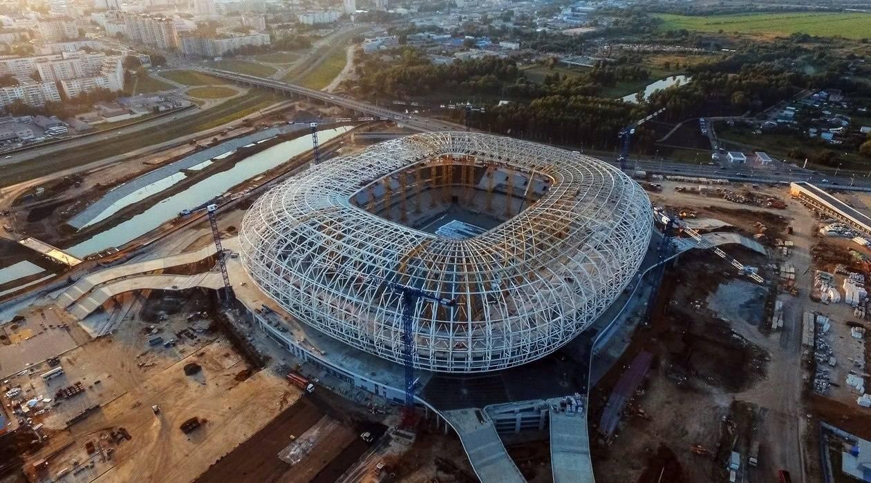 Газон стадиона кЧМ-2018 вСаранске засеют осенью