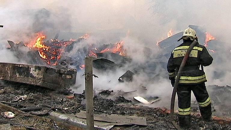 Пенсионер вМордовии живьем сгорел в своем доме