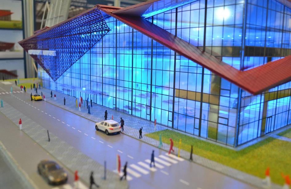 Новый постоянный терминал Саранского аэропорта приобрел очертания