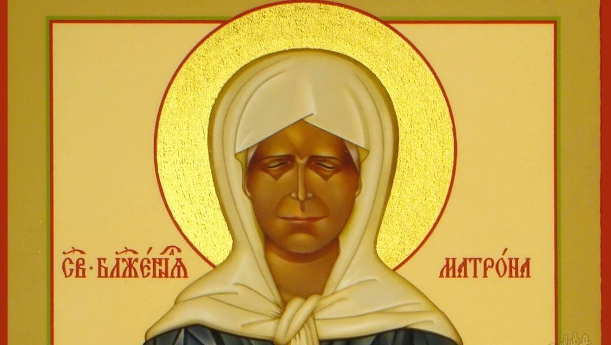 В Мордовию привезут икону Матроны Московской с частицей мощей