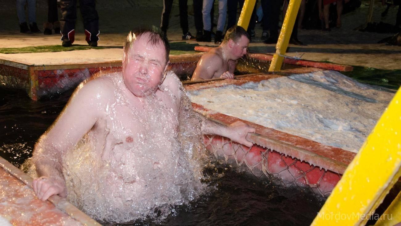 Православные в Саранске отметили Крещение