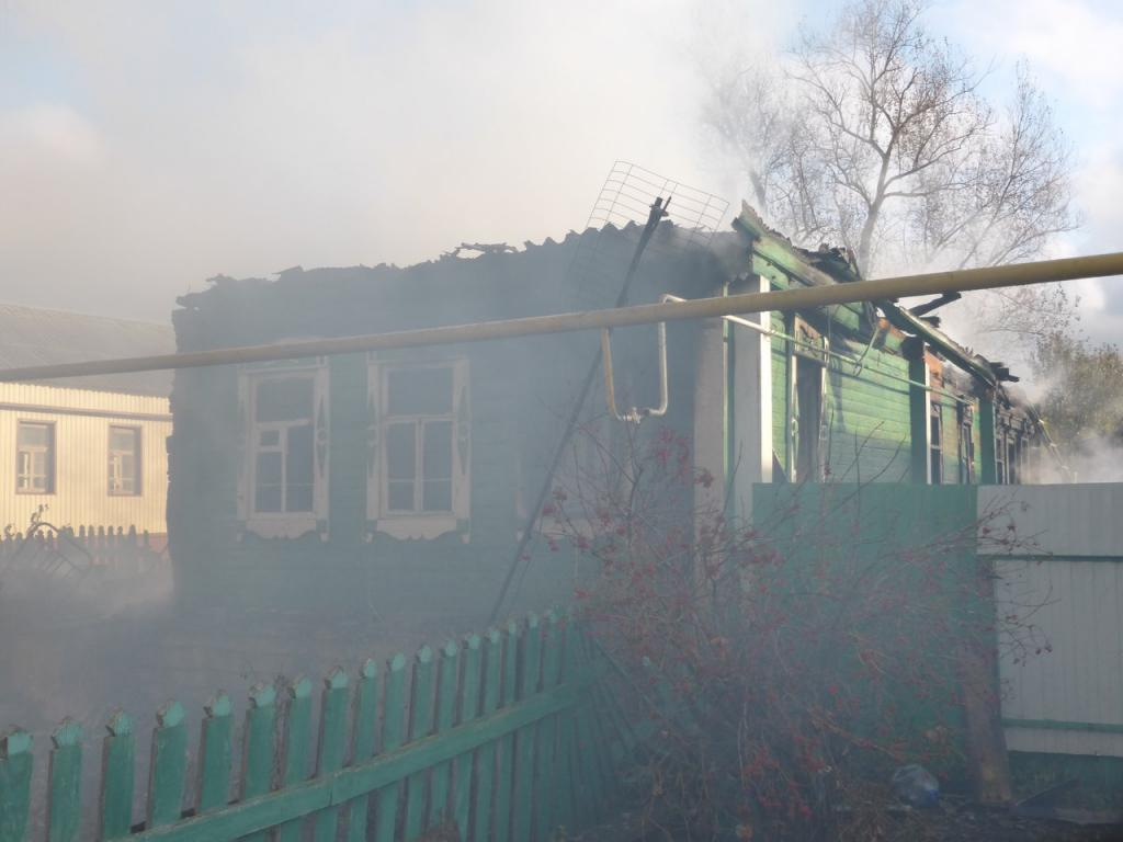 Впожаре вСаранске умер человек
