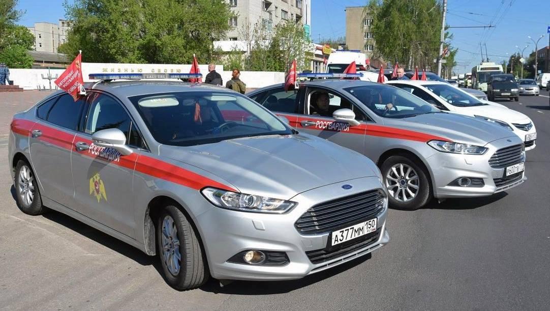 В Мордовию прибудет автопробег Росгвардии в честь Дня Победы