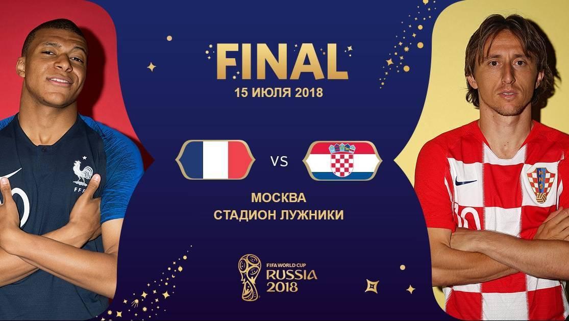 Сборная Франции по футболу второй раз в истории завоевала титул чемпиона мира