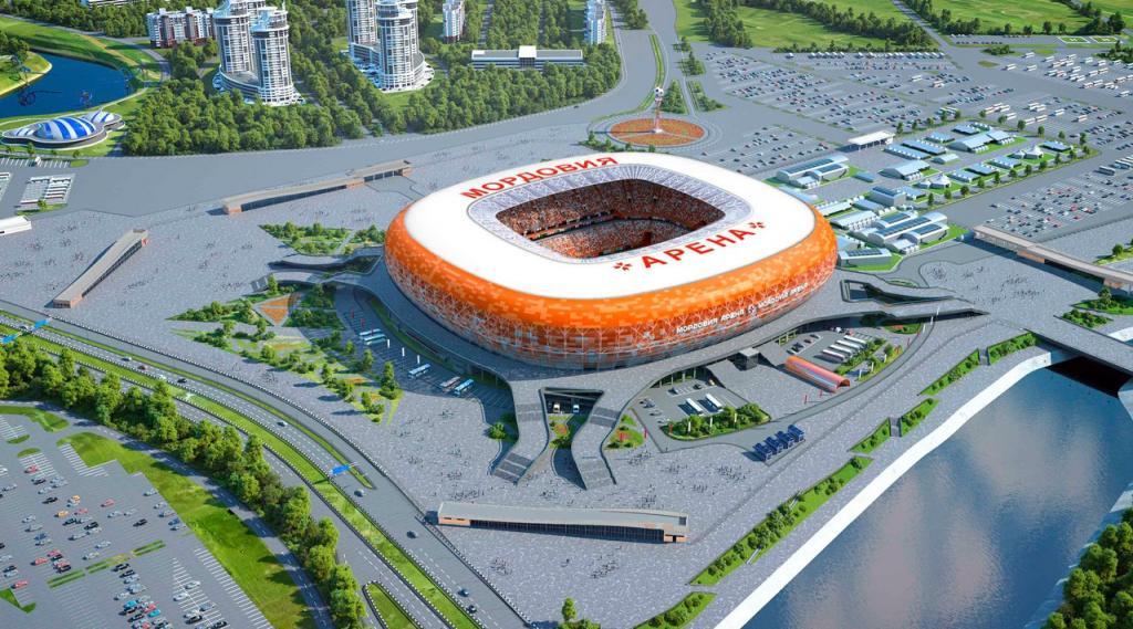 Стадион кЧМ-2018 вСаранске будет всолнечном цвете