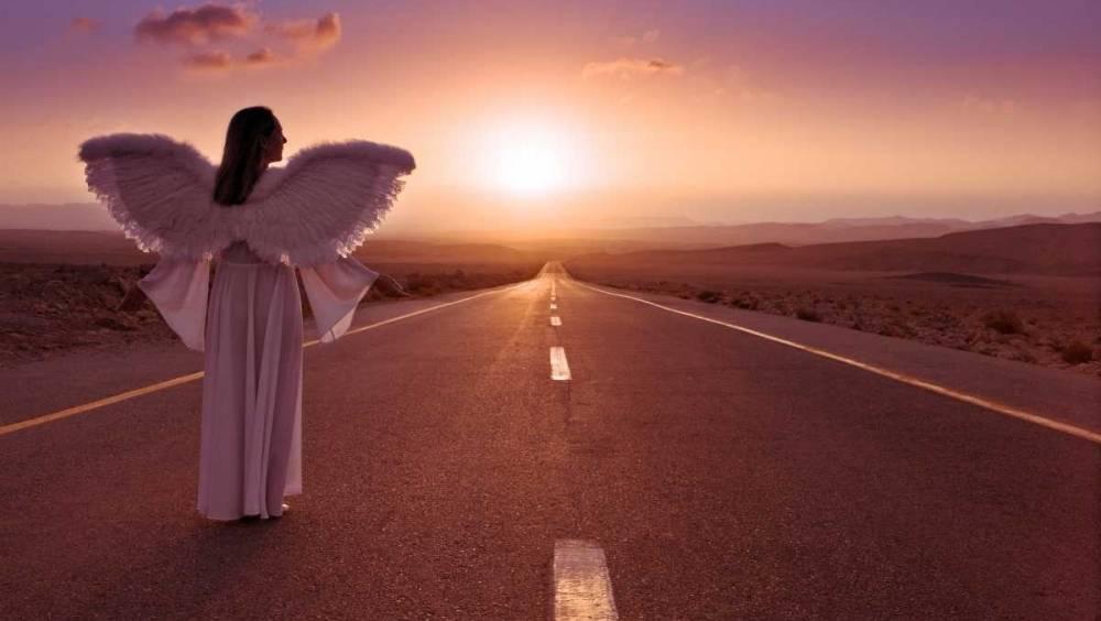 Картинки ангел на дорогах
