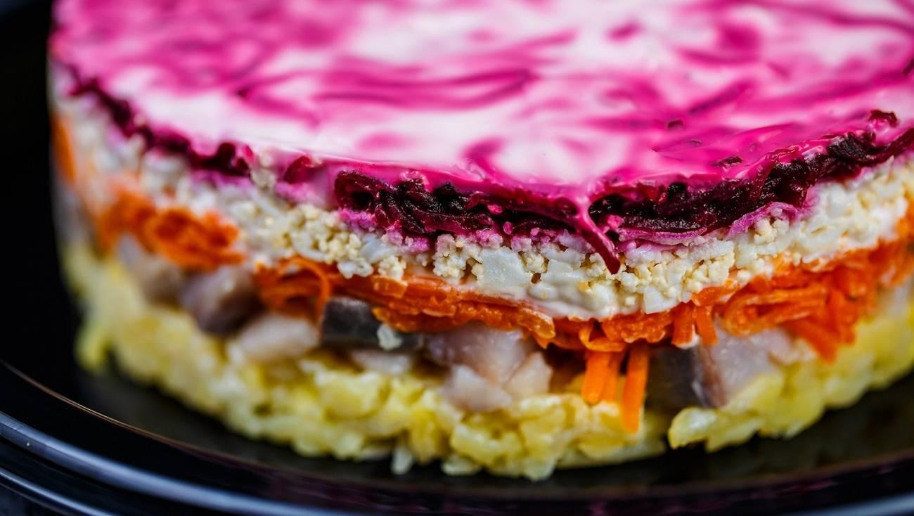 салат под шубой рецепт с фото пошагово тихо