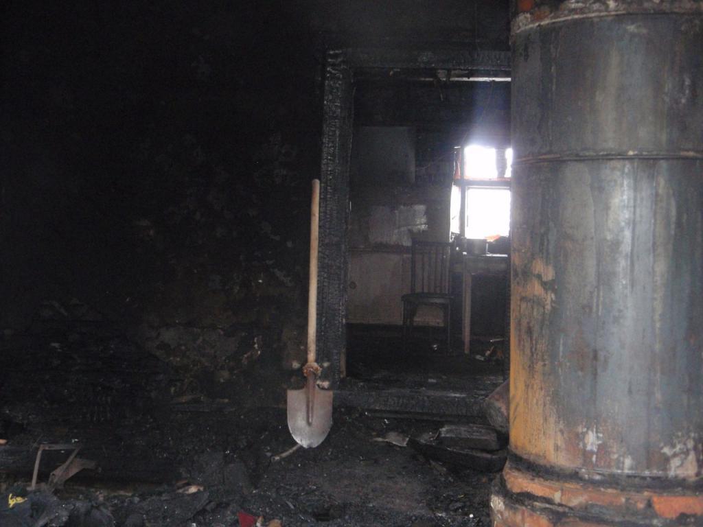 ВАрдатовском районе сгорела одинокая 85-летняя женщина
