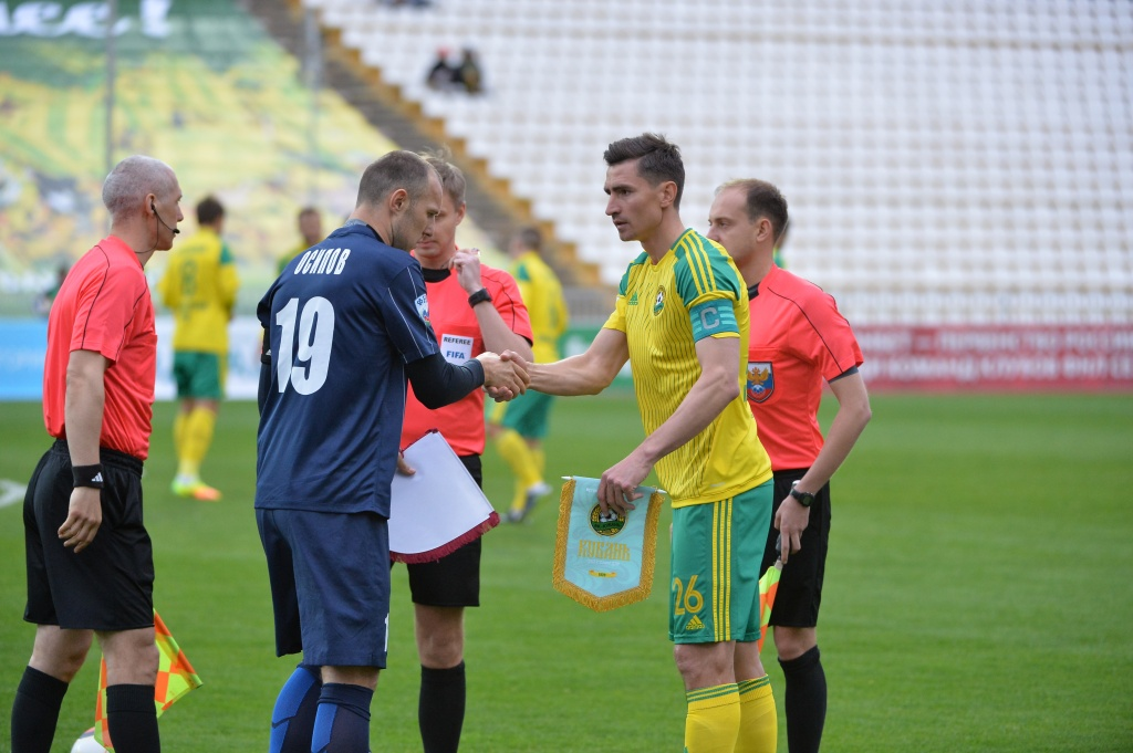 «Кубань» обыграла «Мордовию» вматче главенства  ФНЛ, окончив  игру вменьшинстве