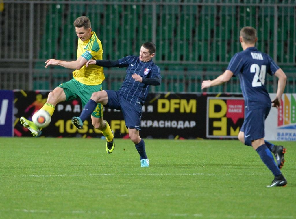 ФК «Мордовия» проиграл выездной матч «Кубани»