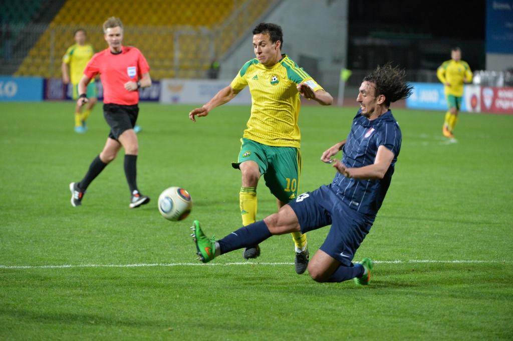 ФК «Кубань» обыграл «Мордовию» надомашнем поле