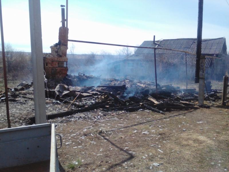 ВМордовии живьем сгорел 52-летний мужчина