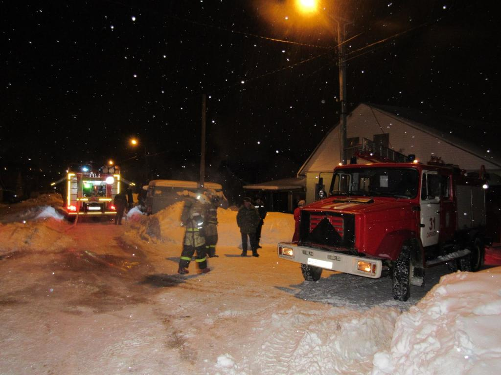 Вцентре Саранска вночном пожаре умер мужчина