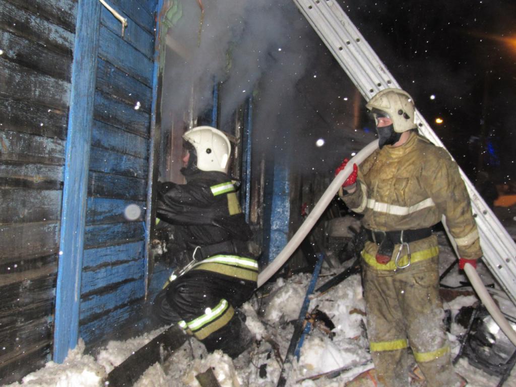 Детали ночного пожара вцентре Саранска