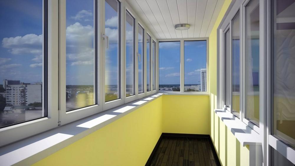 Остекление балконов и лоджий в перми, застеклить балкон перм.
