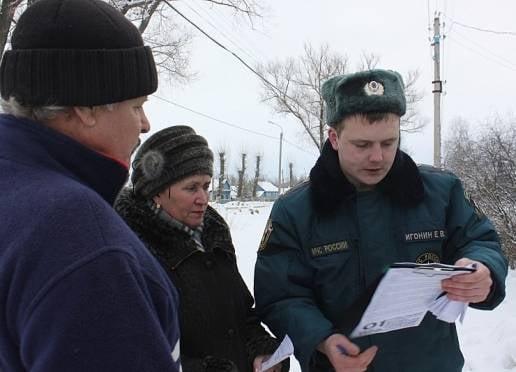 Спасатели Мордовии раздали 211 тыс листовок
