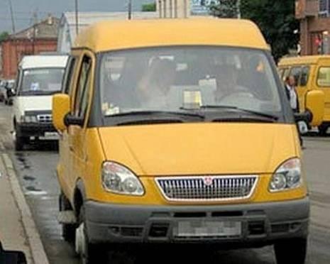 В Саранске полицейские по пятам следовали за маршрутками