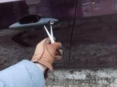 В Мордовии подросток вскрыл «восьмёрку» ножницами