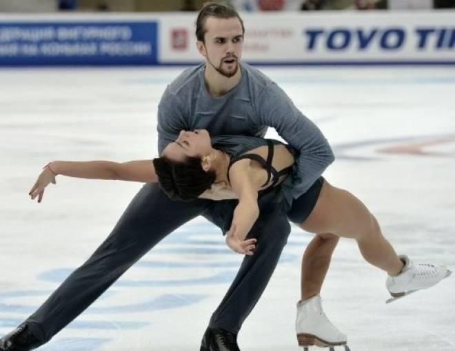 Ксения Столбова и Фёдор Климов стали лучшими на московском льду