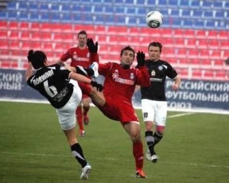 ФК «Мордовия» одержал убедительную победу над «Нижним Новгородом»
