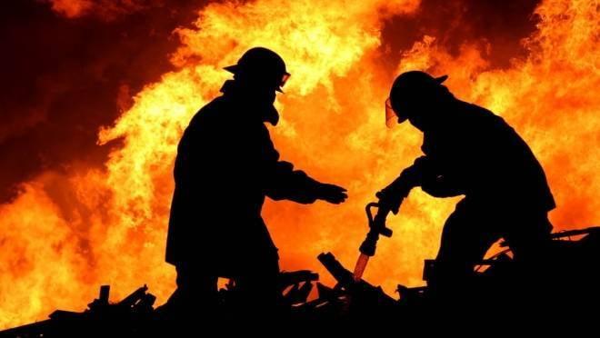 Пожар на площади в 550 квадратных метров был потушен в Мордовии
