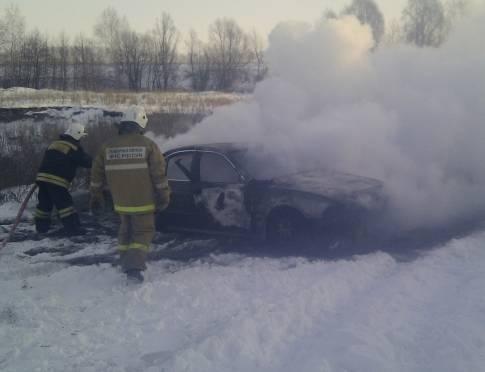 В Мордовии за год три человека погибли в горящих авто