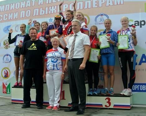 Спортсменка из Мордовии — в числе лучших на первенстве России по лыжероллерам