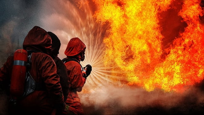 Три серьезных пожара были потушены в Мордовии за сутки