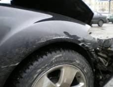 В центре Саранска не смогли разъехаться машины