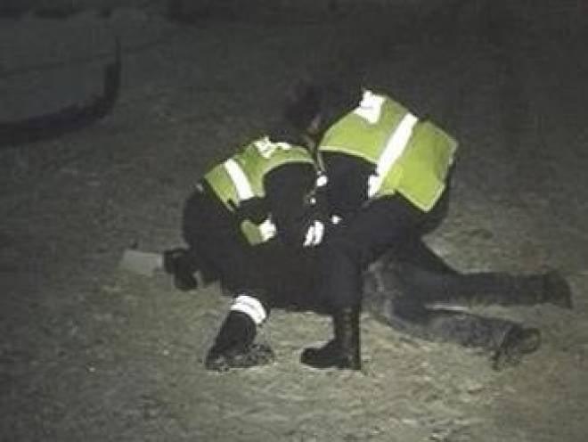 Житель Мордовии напал с пистолетом на полицейского в Москве