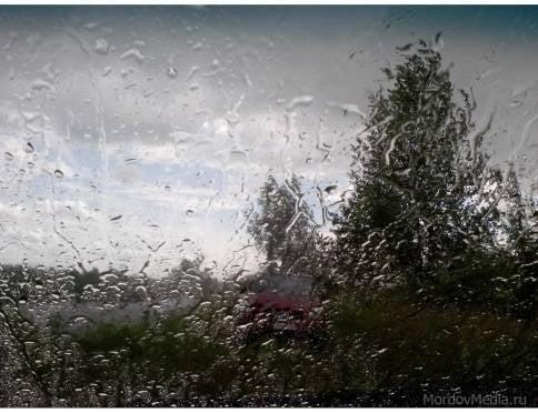 13 апреля в Саранске объявлено штормовое  предупреждение