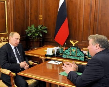 Владимир Волков обсудил с Владимиром Путиным жизнь Мордовии