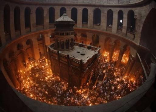 В Саранске встретят благодатный огонь из Иерусалима