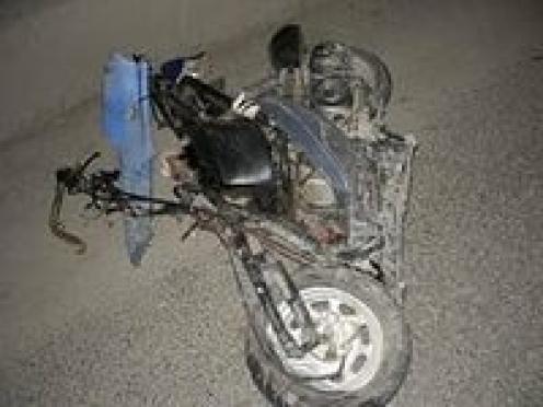 В Мордовии при столкновении скутера и иномарки погибли двое
