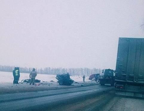 Водитель из Мордовии насмерть разбился с пассажиром в Рязанской области