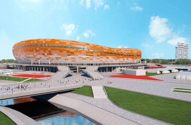 Строительство стадиона к ЧМ-2018 в Саранске вышло на новый этап