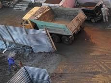 Строителей «Сити Парка» в Саранске оштрафовали за грязную работу