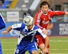 Футбольный клуб «Мордовия» проиграл выездной матч «Сибири»