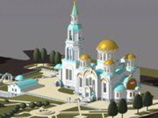 В Саранске завершается строительство храма иконы Казанской Божьей Матери