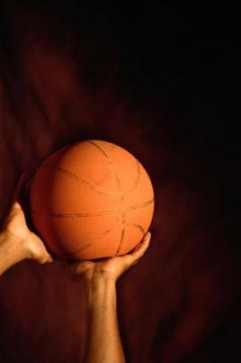 Товарищеская встреча по баскетболу среди юношей и девушек постер